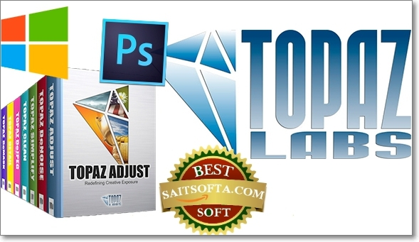Topaz Labs Photoshop Plugins Bundle 09.2016 + ключ (2016) ENG