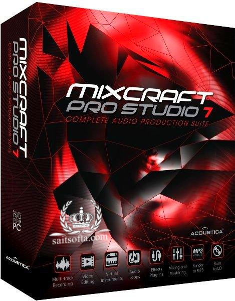 Acoustica Mixcraft Pro Studio 9.0 Build 462 Final + keygen [На русском]
