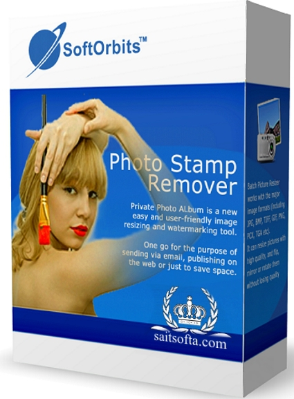 SoftOrbits Photo Stamp Remover 8.3 + ключ [На русском]