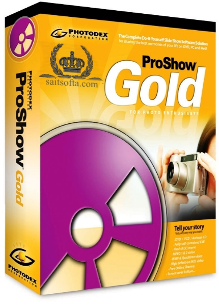 Photodex ProShow Gold 9.0.3769 + patch [Русские/Английские версии]