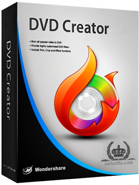 Wondershare DVD Creator 5.1.0.28 + cracked [Русские/Английские версии]