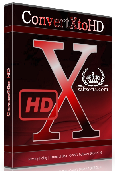 VSO ConvertXtoHD 3.0.0.58 Final + patch [На русском]