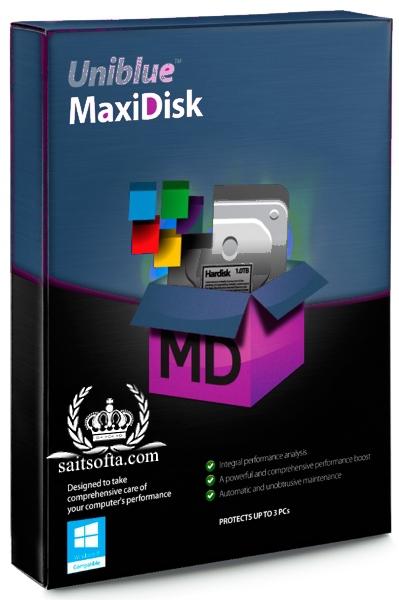 Uniblue MaxiDisk 1.0.9.3 Final + ключ [На русском]