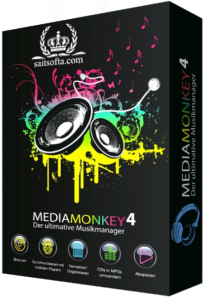 MediaMonkey Gold 4.1.24.1883 Final + keygen [На русском]