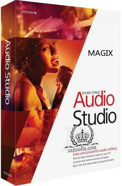 MAGIX SOUND FORGE Audio Studio 13.0.0.45 + crack [На русском]