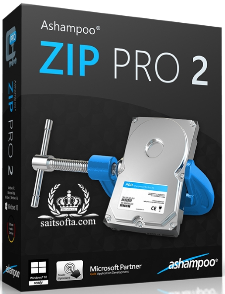 Ashampoo ZIP Pro 2.0.0.38 Final + cracked [На русском]
