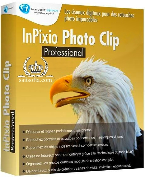 InPixio Photo Clip Professional 9.0.2 + crack [Русские/Английские версии]