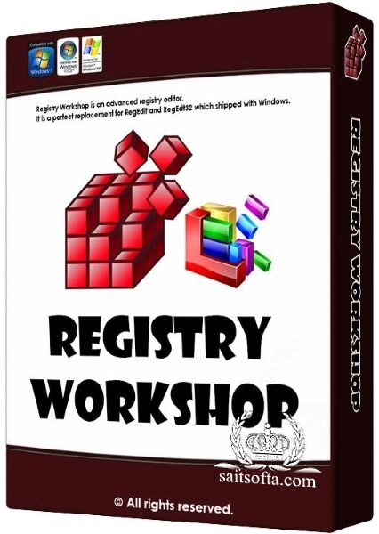 Registry Workshop 5.0.1 + keygen [На русском] + Portable