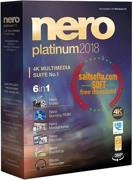 Nero Platinum 2018 Suite 19.0.10200 + patch [На русском] + Content Pack