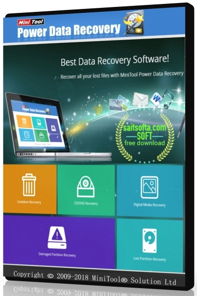 MiniTool Power Data Recovery 8.0 Business Standard | Deluxe | Enterprise | Technician + crack (2018) ENG