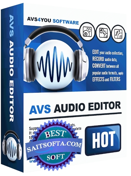 AVS Audio Editor 8.5.2.529 + patch [На русском]