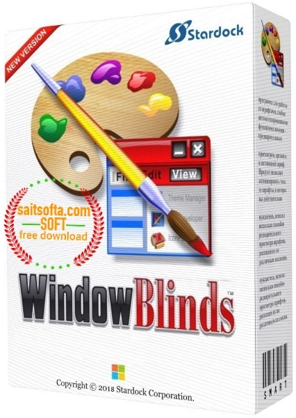 Stardock WindowBlinds 10.65 + cracked (2017) ENG