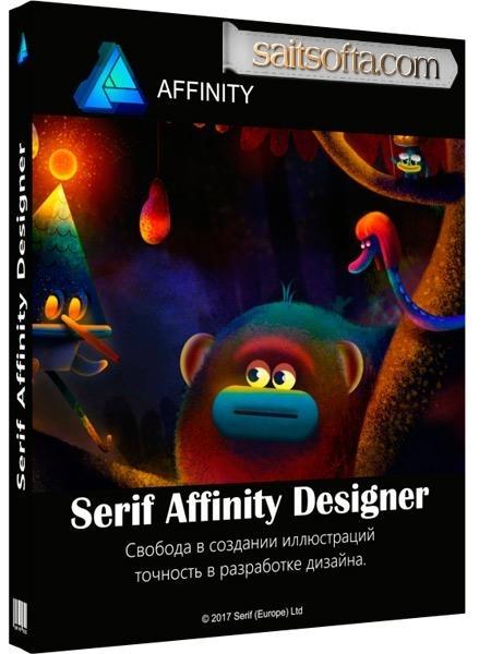 Serif Affinity Designer 1.6.4.104 Final + ключ [На русском]