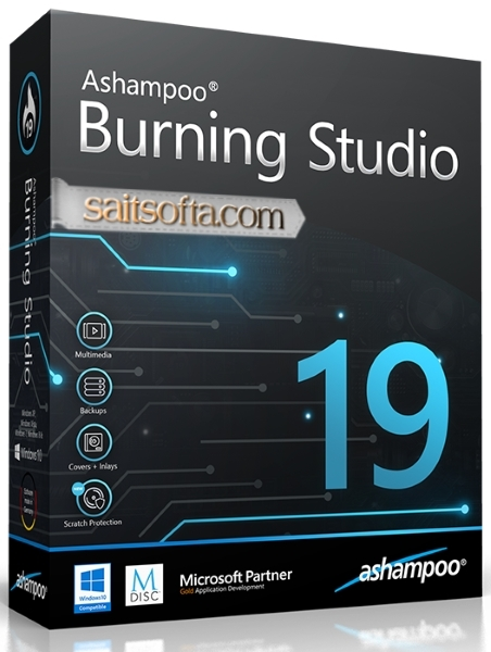 Ashampoo Burning Studio 19.0.1.6 Final + ключ [На русском]