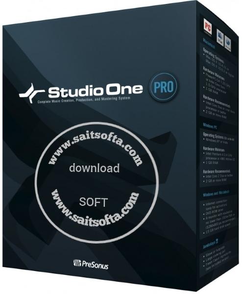 PreSonus Studio One Pro 4.5.0.52556 + keygen (2019) ENG