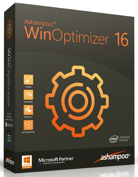 Ashampoo WinOptimizer 16.00.20 Final + cracked [На русском]