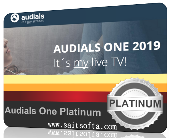 Audials One Platinum 2019.0.7200.0 + ключ (2019) ENG
