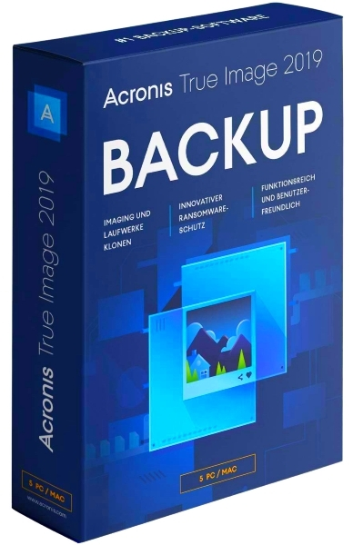 Acronis True Image 2019 Build 17750 + patch [На русском] + BootCD