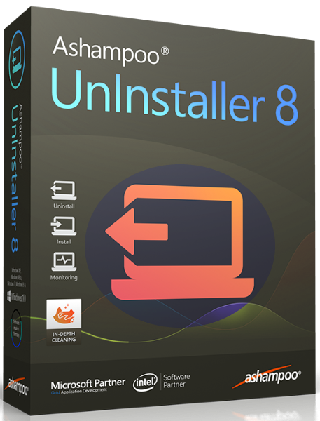 Ashampoo UnInstaller 8.00.12 Final + ключ [На русском] + Portable