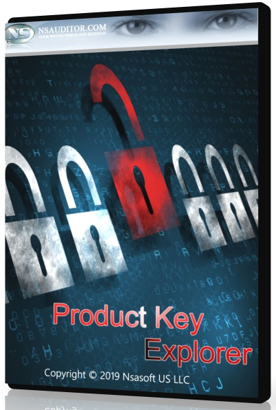 Nsasoft Product Key Explorer 4.0.11.0 + crack  (2019) ENG + Portable