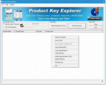 Nsasoft Product Key Explorer 4.1.6.0 + crack  (2019) + Portable