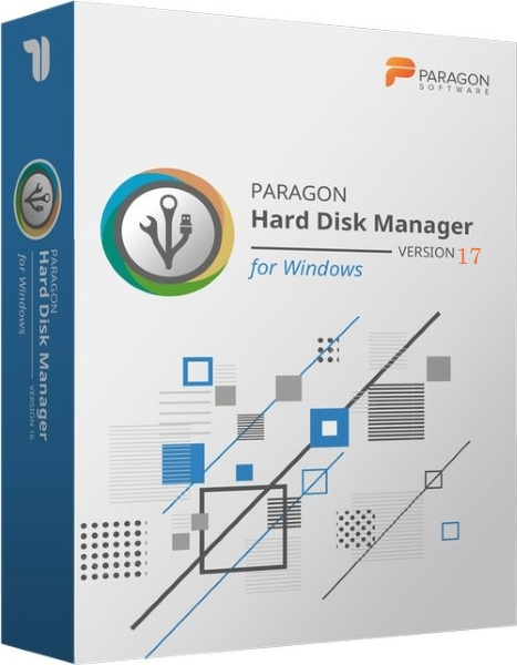Paragon Hard Disk Manager 17 Advanced 17.2.3 + ключ (2019) ENG
