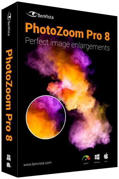 Benvista PhotoZoom Pro 8.0.4 + cracked На русском]