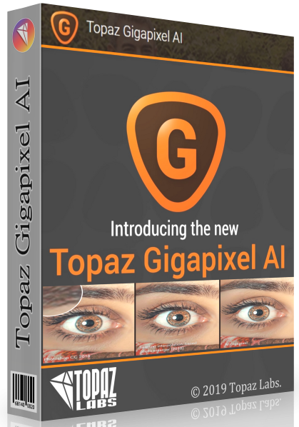 Topaz Gigapixel AI 4.4.4 + ключ (2019) ENG