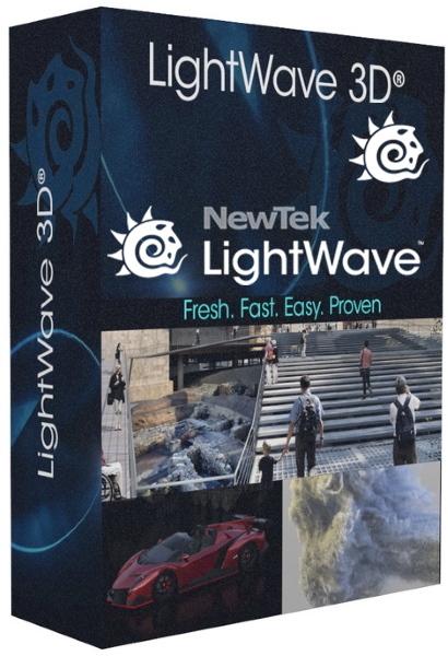 NewTek LightWave 3D 2020.0.1 + crack [На английском]