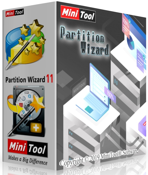 MiniTool Partition Wizard 12.0 Enterprise + cracked [Русификатор]