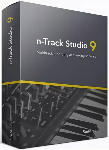 n-Track Studio Suite 9.1.2 Build 3706 + crack [На русском]