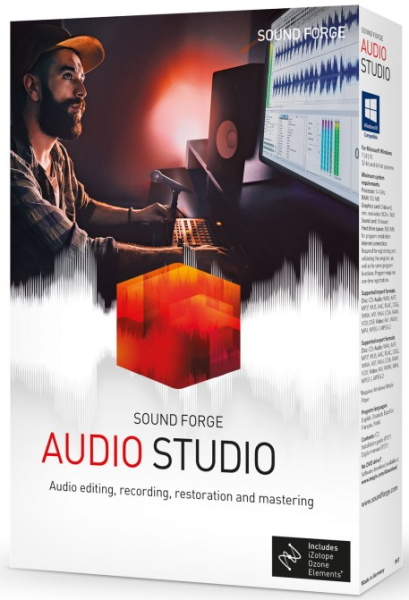 MAGIX SOUND FORGE Audio Studio 15.0 Build 47 + crack [На английском]