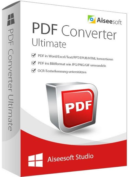 Aiseesoft PDF Converter Ultimate 3.3.32 + ключ [Русификатор]