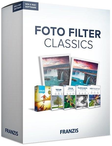 Franzis Foto Filter Classics 1.0.0 + ключ [Русификатор] + Portable