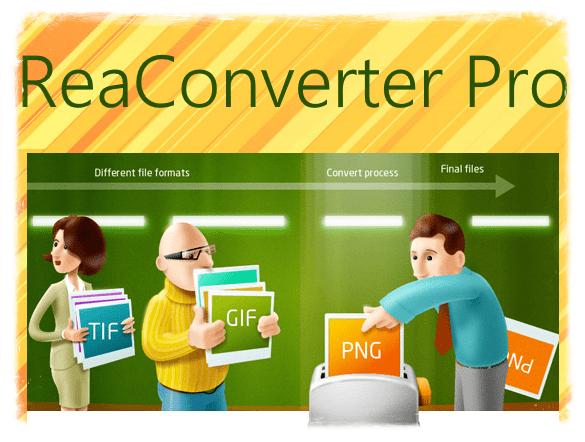 ReaConverter Pro 7.620 + crack [На русском]
