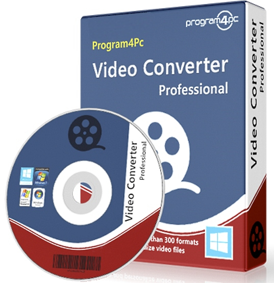Program4Pc Video Converter Pro 10.8.4.0 + ключ [На русском]