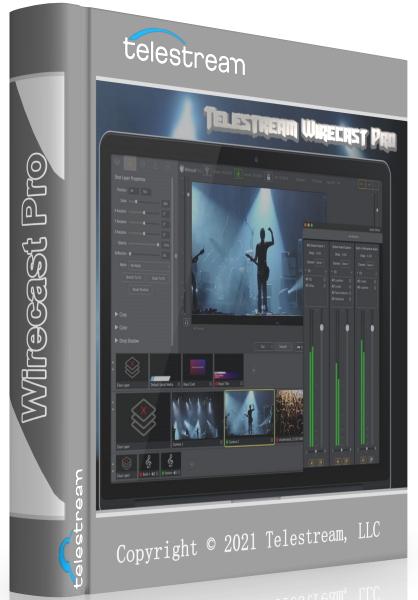 Telestream Wirecast Pro 14.0.4 + crack [На английском]