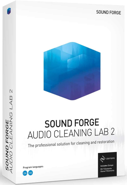 MAGIX SOUND FORGE Audio Cleaning Lab 24.0.2.19 + crack [На английском]
