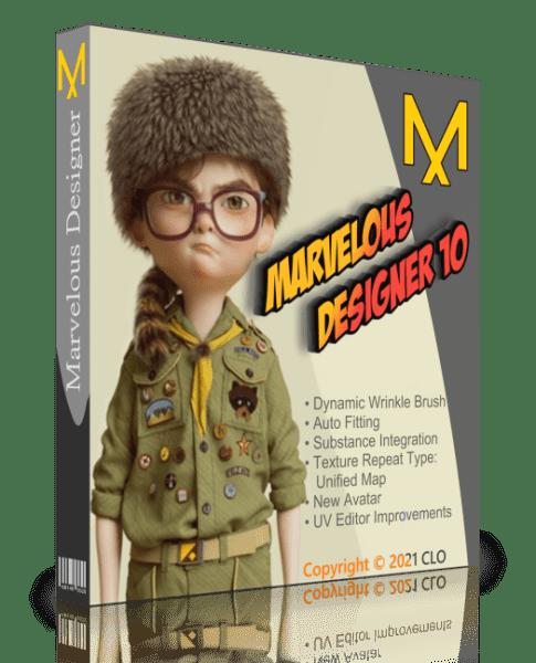 Marvelous Designer 10 Personal 6.0.405.32493 + crack [На русском]