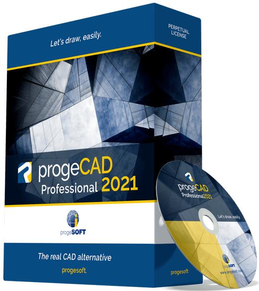 progeCAD 2021 Professional 21.0.6.11 + crack [На английском]