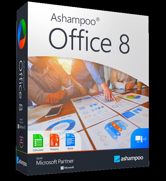 Ashampoo Office 2021 Rev A1031.0303 + crack [На русском]