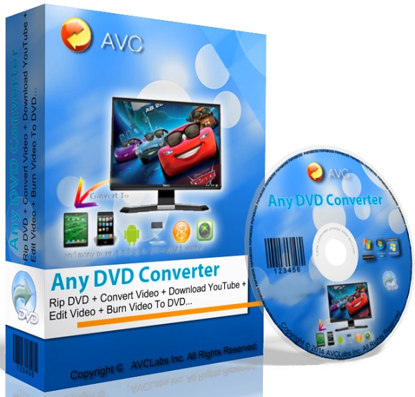 Any DVD Converter Professional 6.0.9 + keygen [На русском]