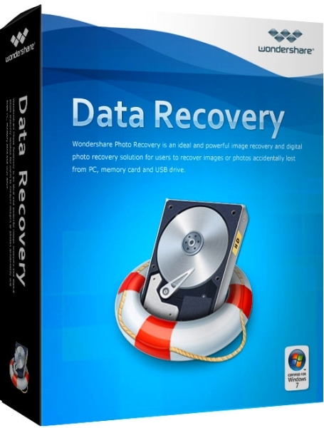 Wondershare Data Recovery 5.0.7.8 + crack [Русификатор]