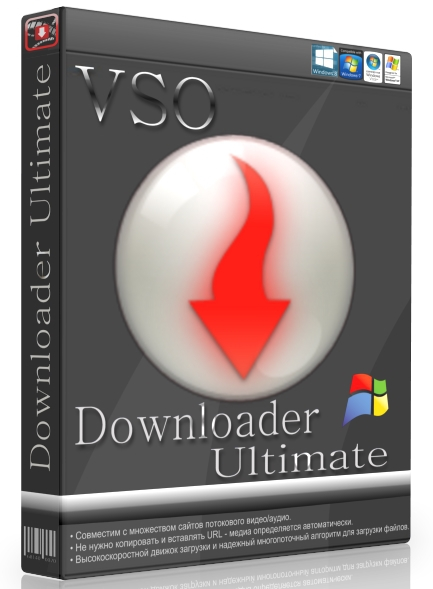 VSO Downloader Ultimate 5.0.1.33 + patch [На русском]