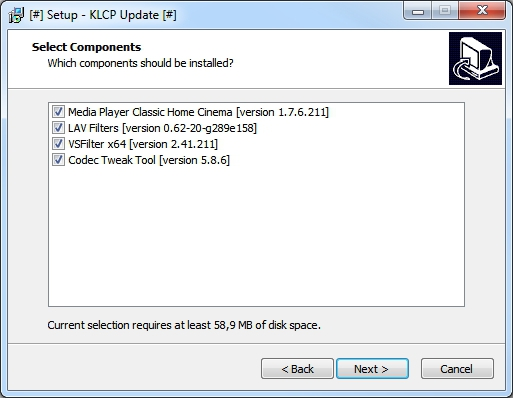 how to use k lite codec pack