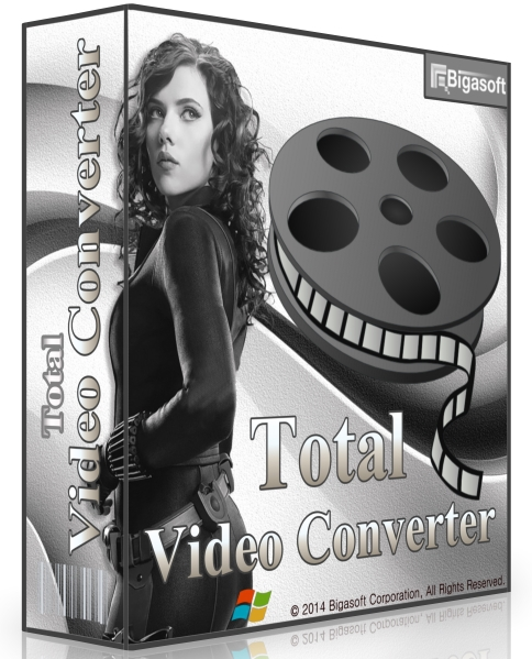Bigasoft Total Video Converter 5.1.1.6250 + keygen [На русском]