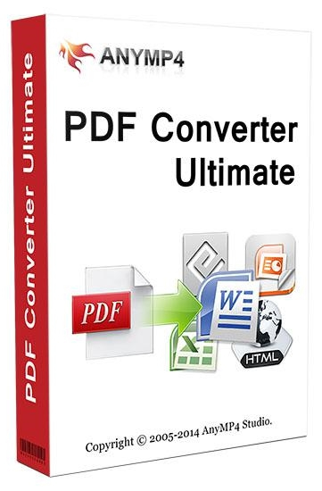 AnyMP4 PDF Converter Ultimate 3.3.18 + crack [Русификатор]