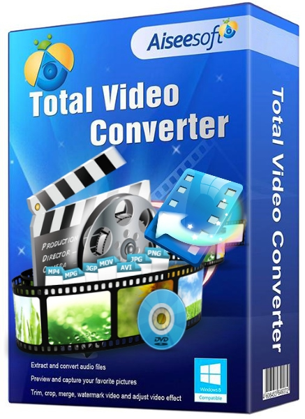 Aiseesoft Total Video Converter 9.0.26 + cracked [На русском]