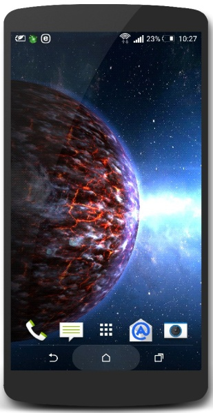 Planets Pack 2.0.2 (живые обои для android)