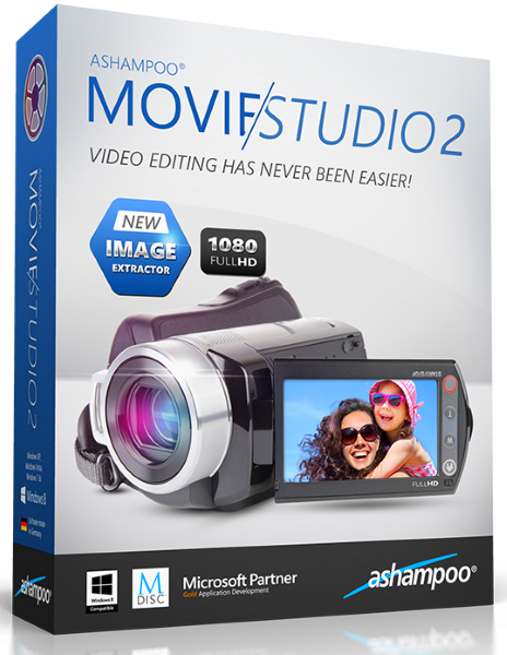 Ashampoo Movie Studio 2.0.5.7 + cracked [На русском]